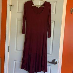 Boston Proper High Low Dress